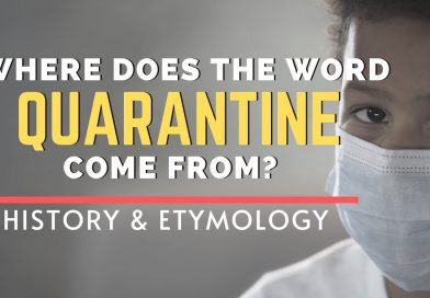 """The History of  the Word: """"Quarantine"""""""